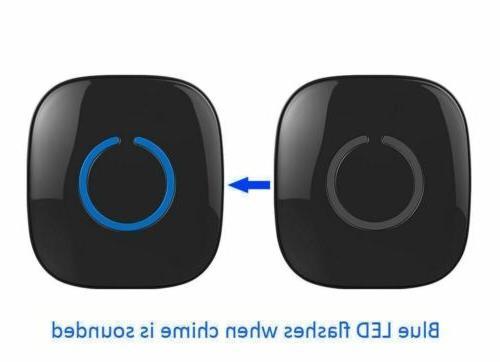 NEW SadoTech Wireless Doorbell w/ 1 Plug-In Receivers