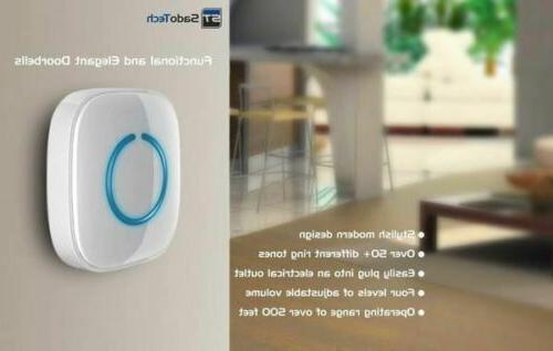 NEW SadoTech Model Wireless w/ 1 Button, Receivers