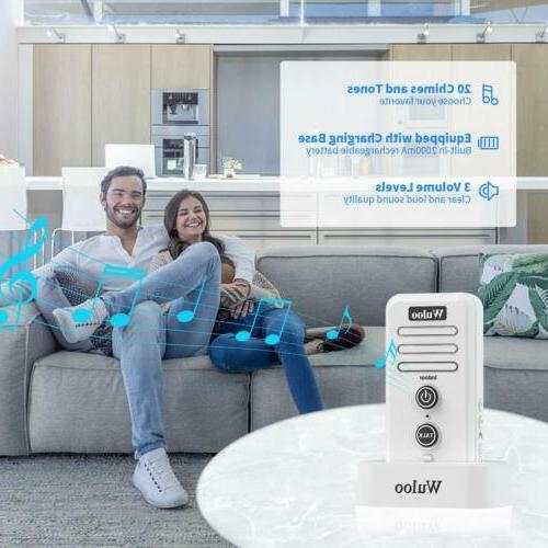 Wireless Rechargeable Doorbell Home 1/2 Mile