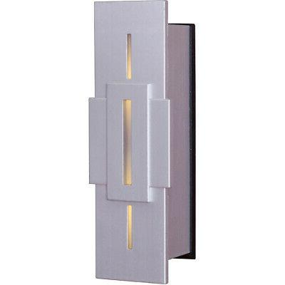 New Craftmade Stacked Rectangles LED Illuminated Doorbell Pu