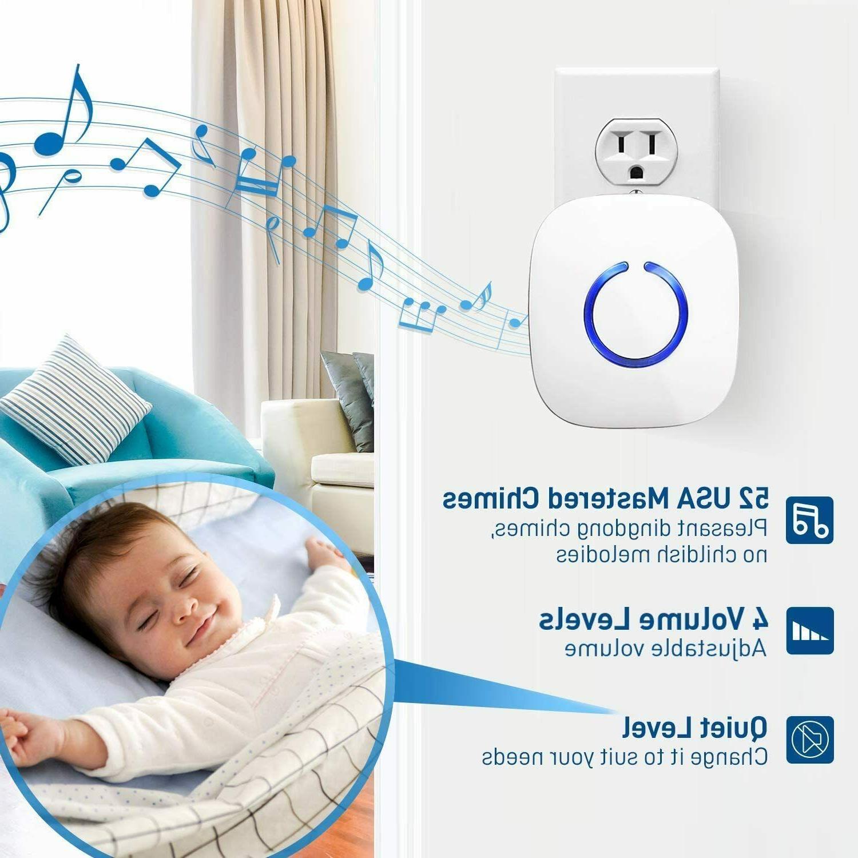NEW SadoTech Door Chimes Wireless Kit
