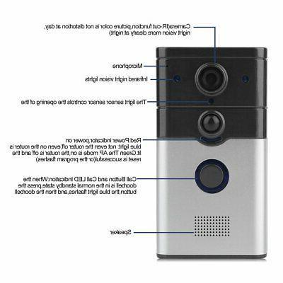 Wireless Smart Video Bell Two-Way US TM