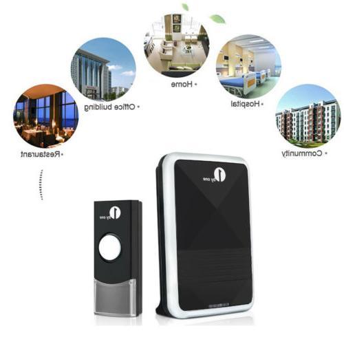 Newest Wireless Doorbell Operated Door Remote Button+1