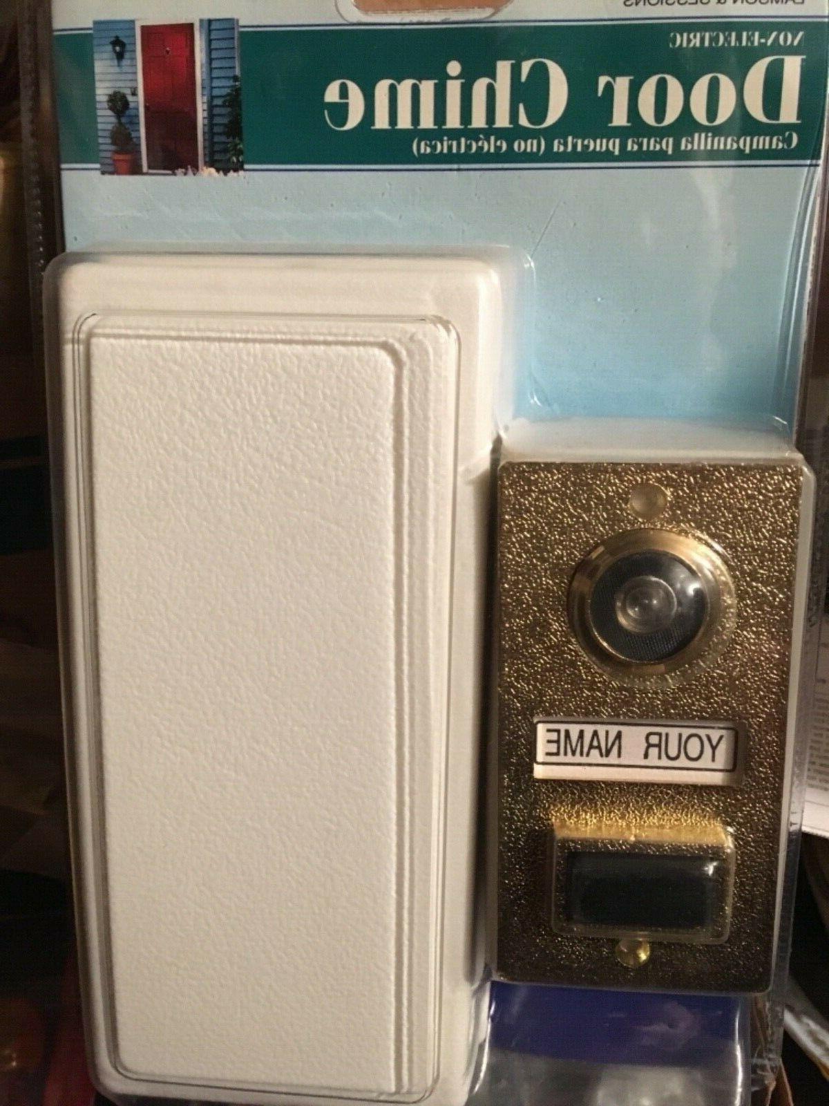 non electric mechanical door chime door bell