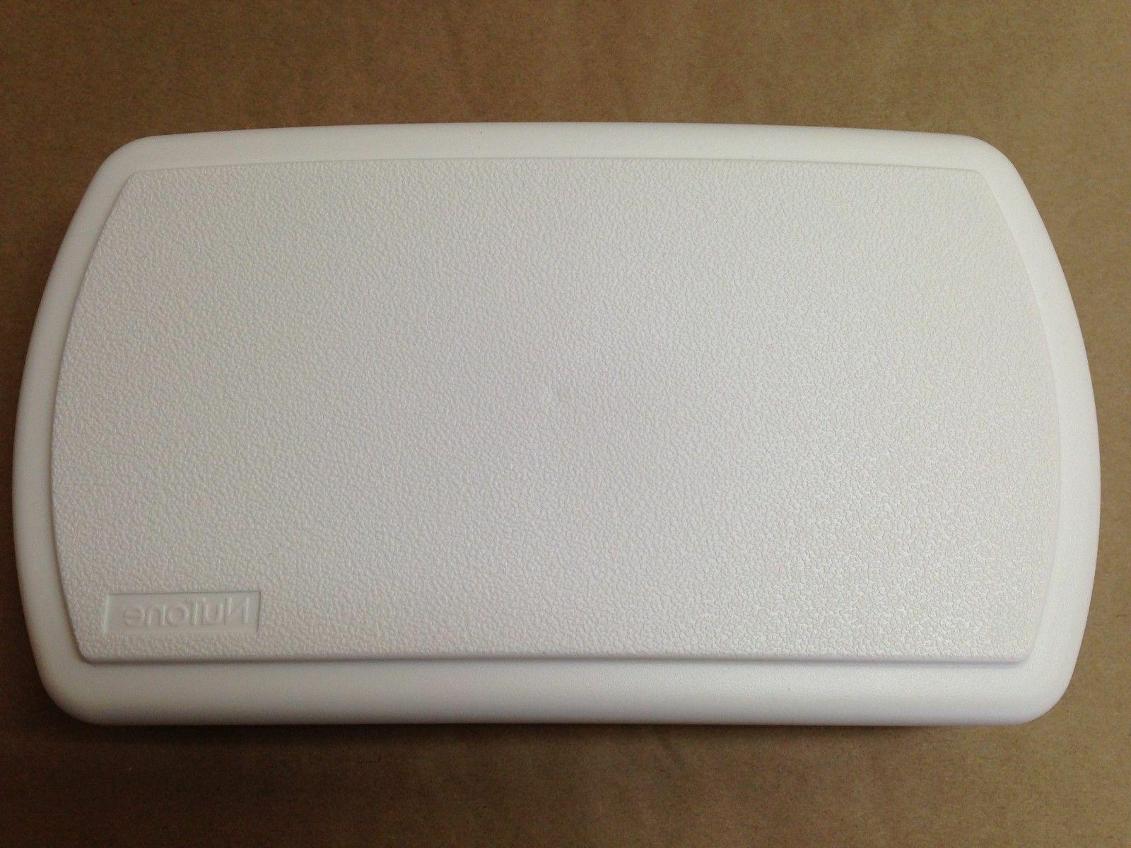 nutone white plastic door chime cover doorbell