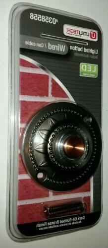 Home Metal Doorbell Button Door Lighted