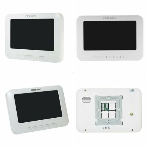 OWSOO 7 inch Wired Video Doorbell Indoor Monitor