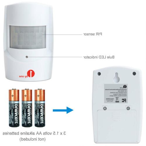 1byone Home in Motion Alarm White