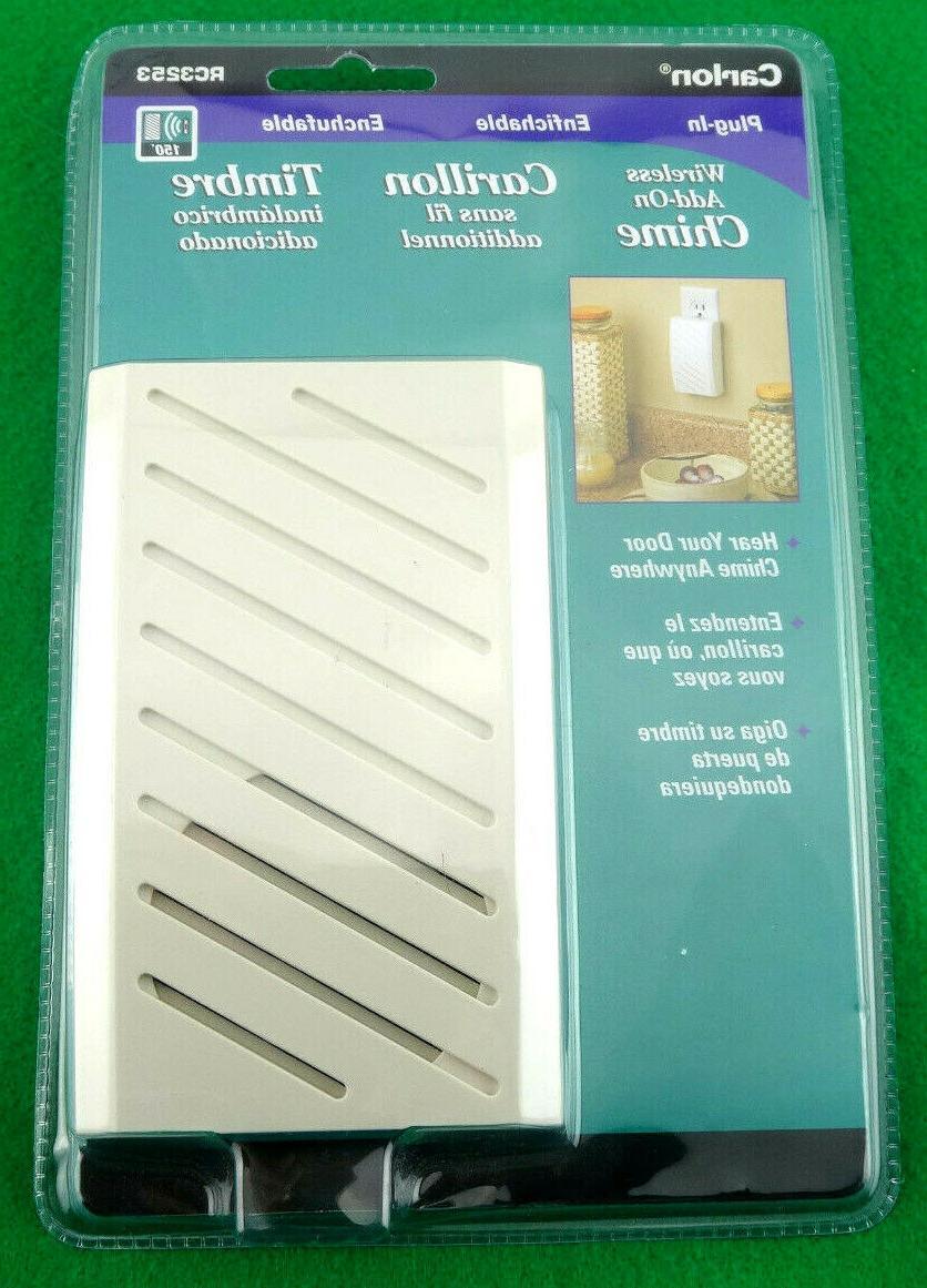 plug wireless add chime doorbell