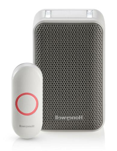 portable wireless doorbell push button