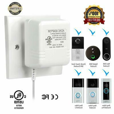 Power Supply Adapter Ring Doorbell 2 Pro Nest Hello