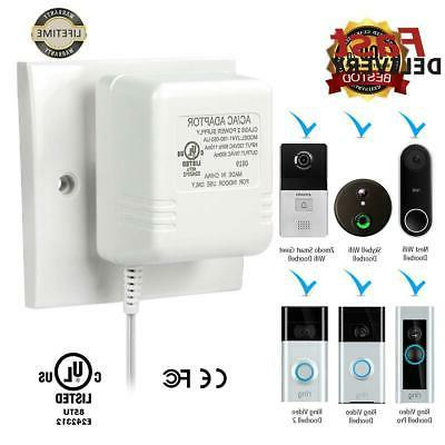power supply transformers adapter ring video doorbell