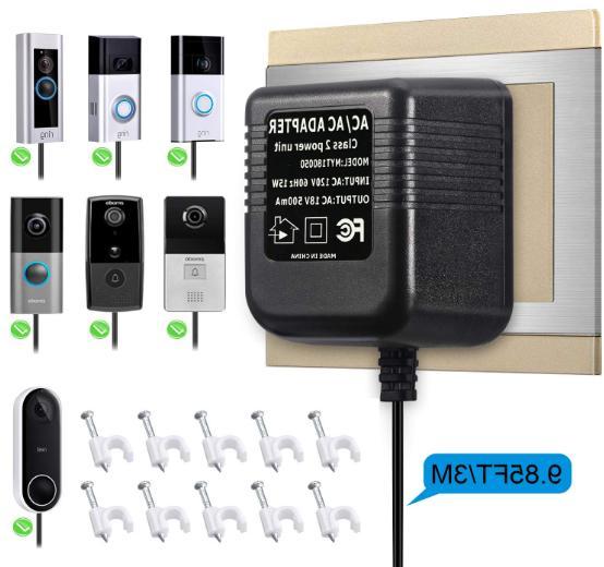 Power Supply Transformers Adapter Ring Video Doorbell 2 Pro