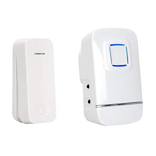 pushpoint eco2 expandable wireless doorbell