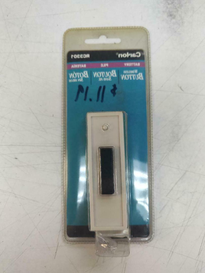 rc 3301 long range wireless doorbell button