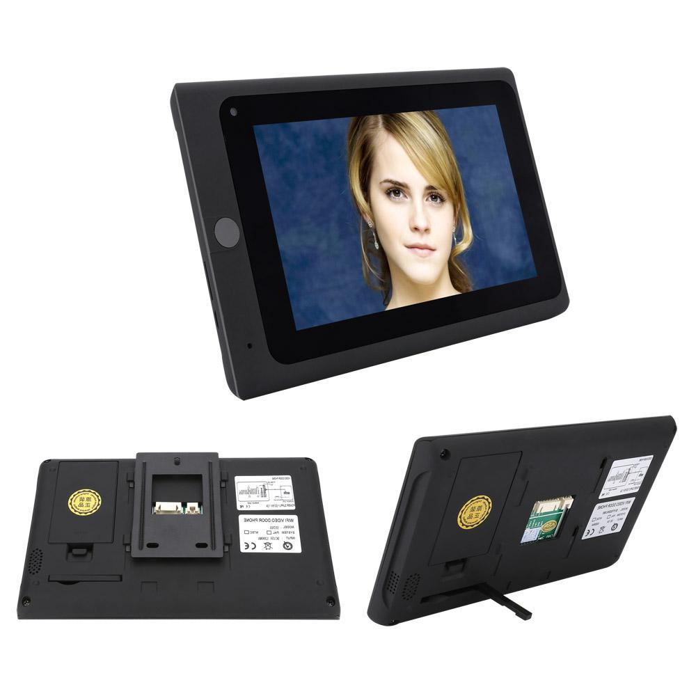 SmartYIBA Video Intercom System <font><b>Doorbell</b></font> Interphone Phone Intercom <font><b>Kits</b></font>