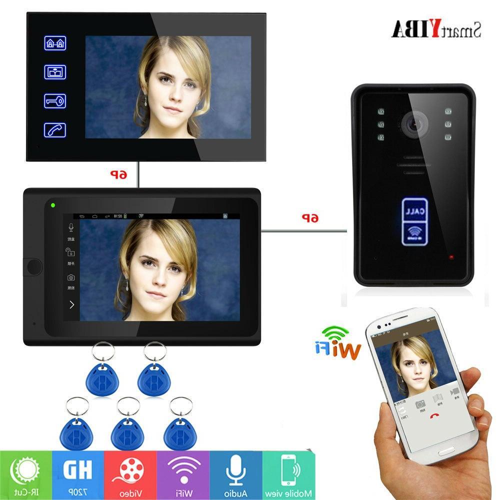 rfid wifi smart video intercom system video