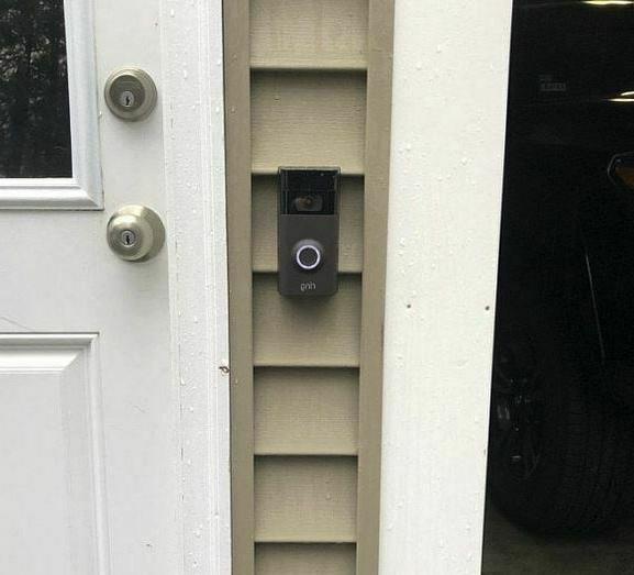 Ring Original Doorbell Mount Cement Vinyl Siding