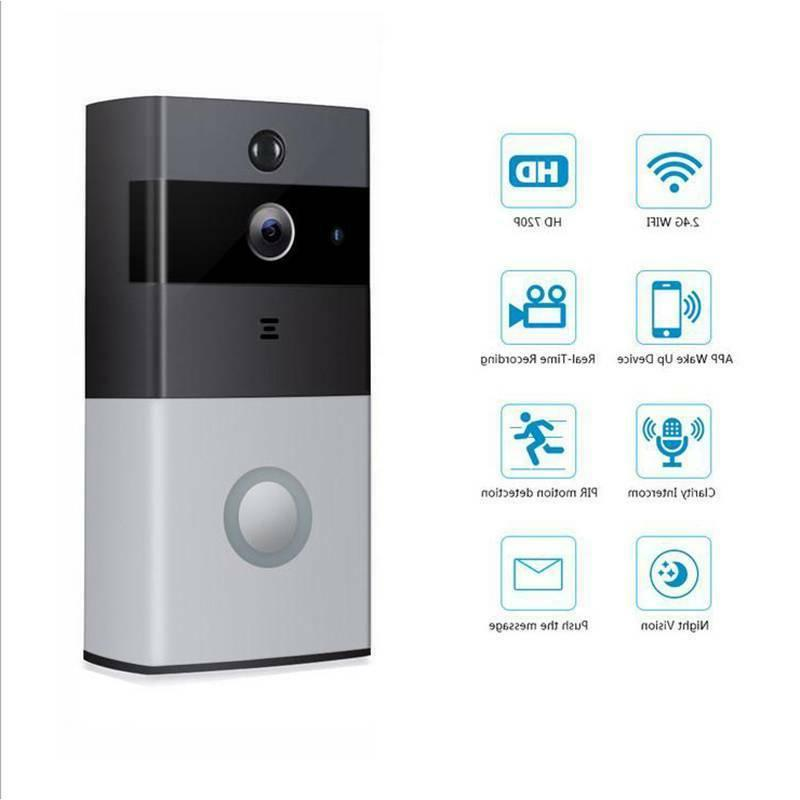 Ring Video Doorbell Pro 720P Wi-Fi Wired Smart HD Camera Wi-