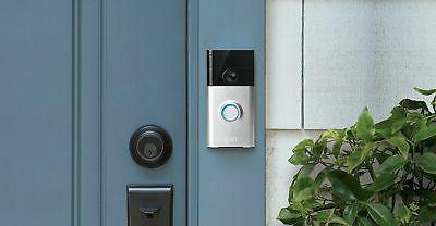 Ring Doorbell Enabled Security Camera Night IP