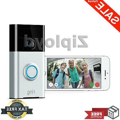 ring video doorbell wi fi enabled smart