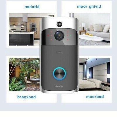 Ring Video Doorbell Alerts Camera