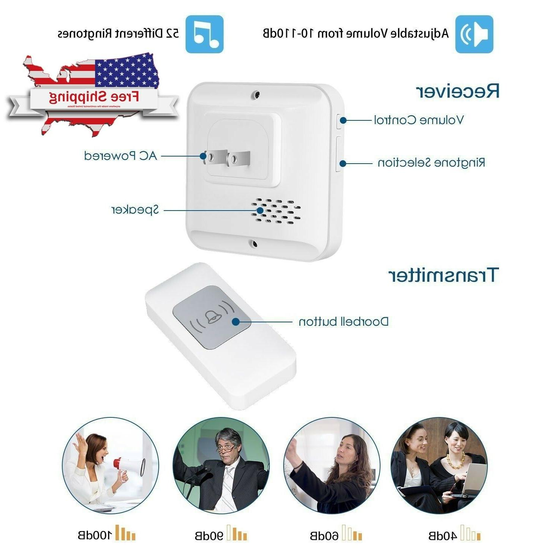 ring wireless doorbell 1000 ft long range