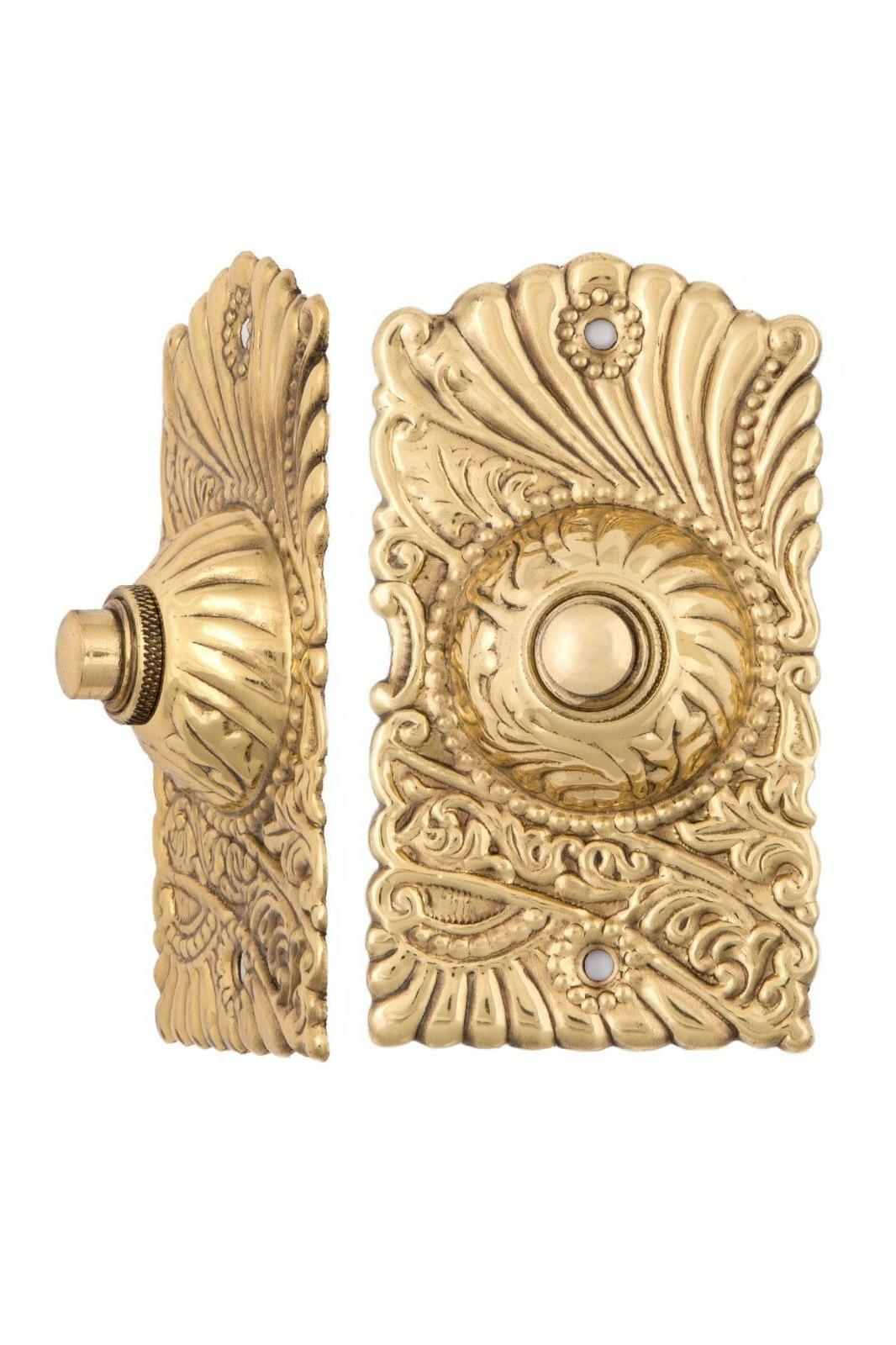Roanoke Electric Doorbell Antique Copper Brass