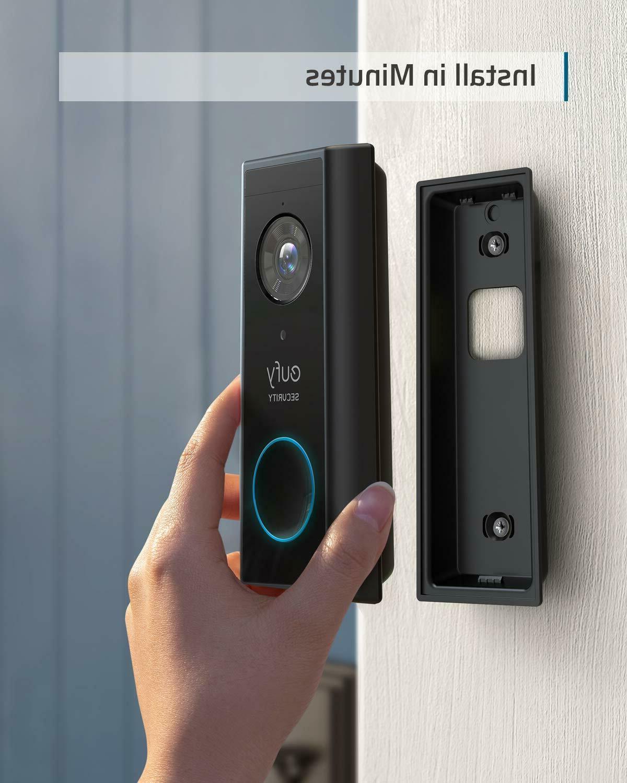 eufy Doorbell Battery-Powered HD AI