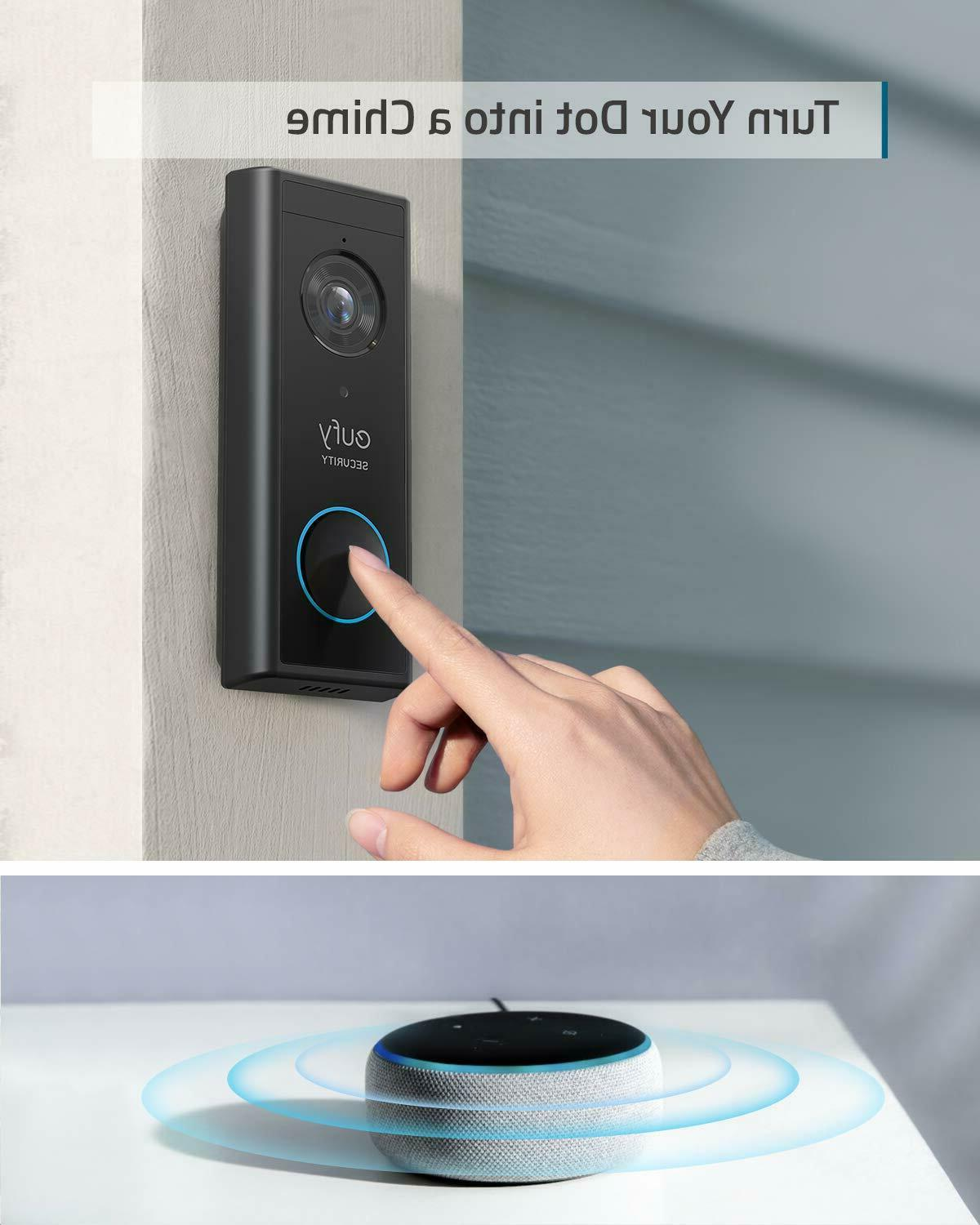 eufy Security Doorbell Battery-Powered 2K HD On-Device
