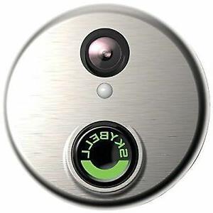 sh02300sl hd wifi video doorbell silver