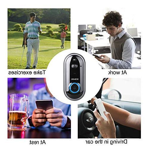 DEBARK Smart Wireless Free Cloud Batteries, 2-Way Talk, Vision, APP Control Android