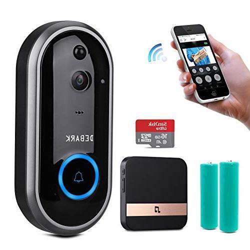 smart doorbell wireless home wifi