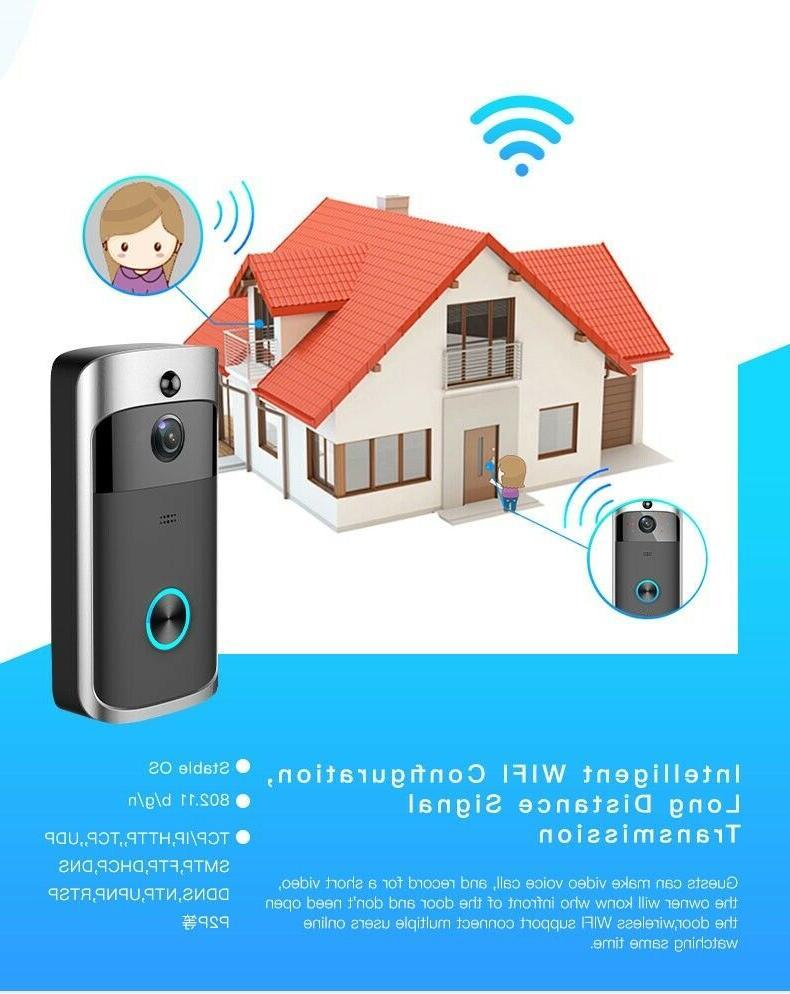 Doorbell Camera Smart Home 2-Way Motion