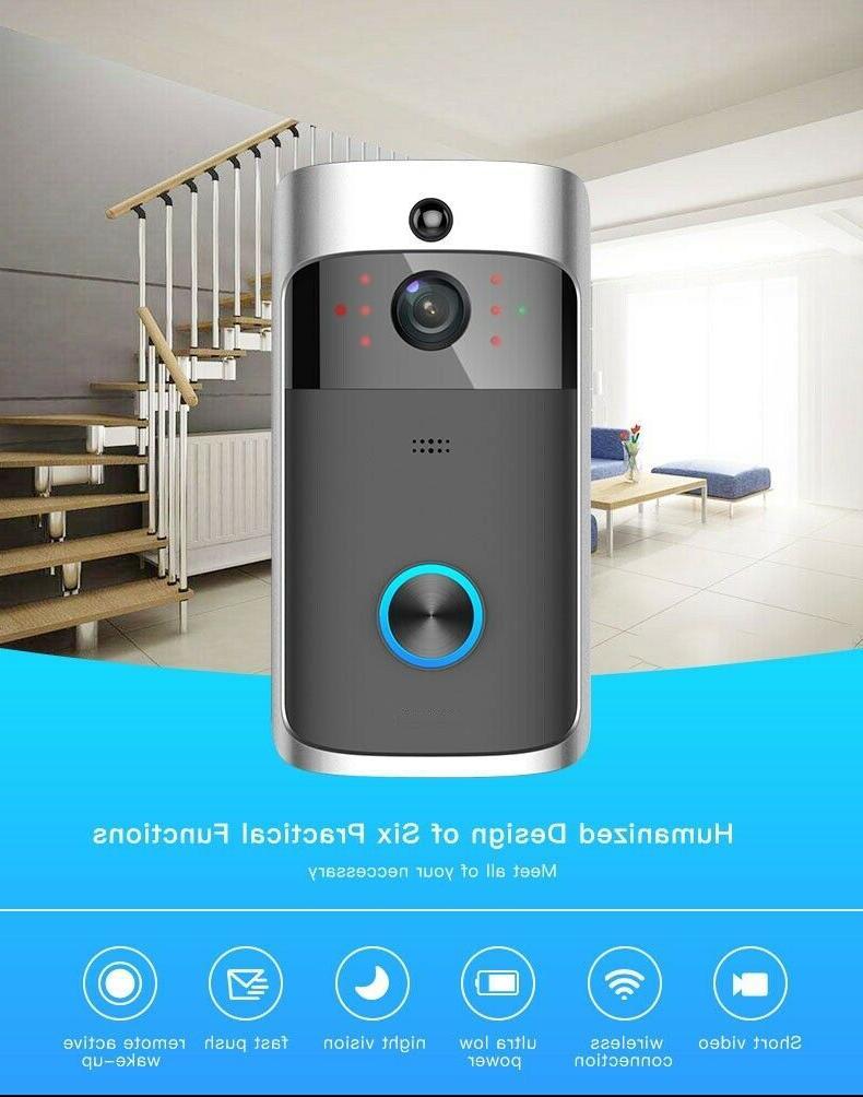 Doorbell Battery Home WiFi 2-Way Motion
