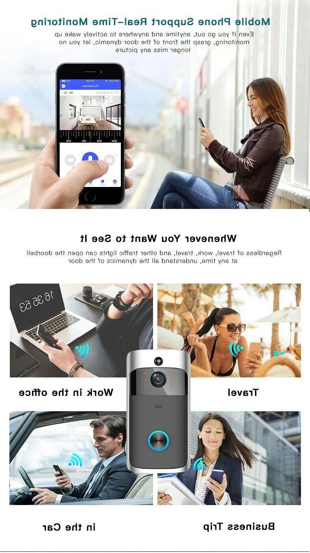 Doorbell Smart Home WiFi 2-Way Chime