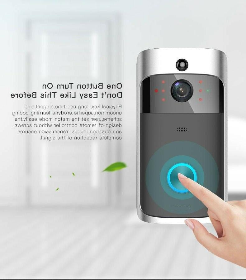 Doorbell Camera Smart Home 2-Way Motion Chime
