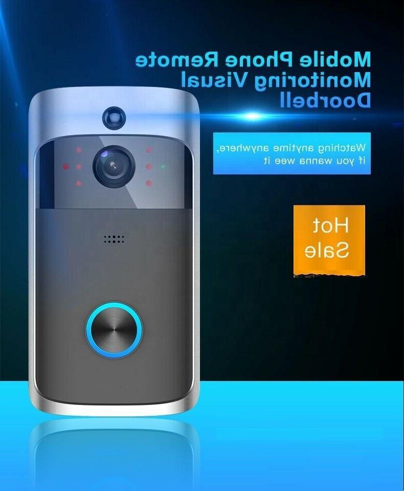 Doorbell Camera Home WiFi 2-Way Motion