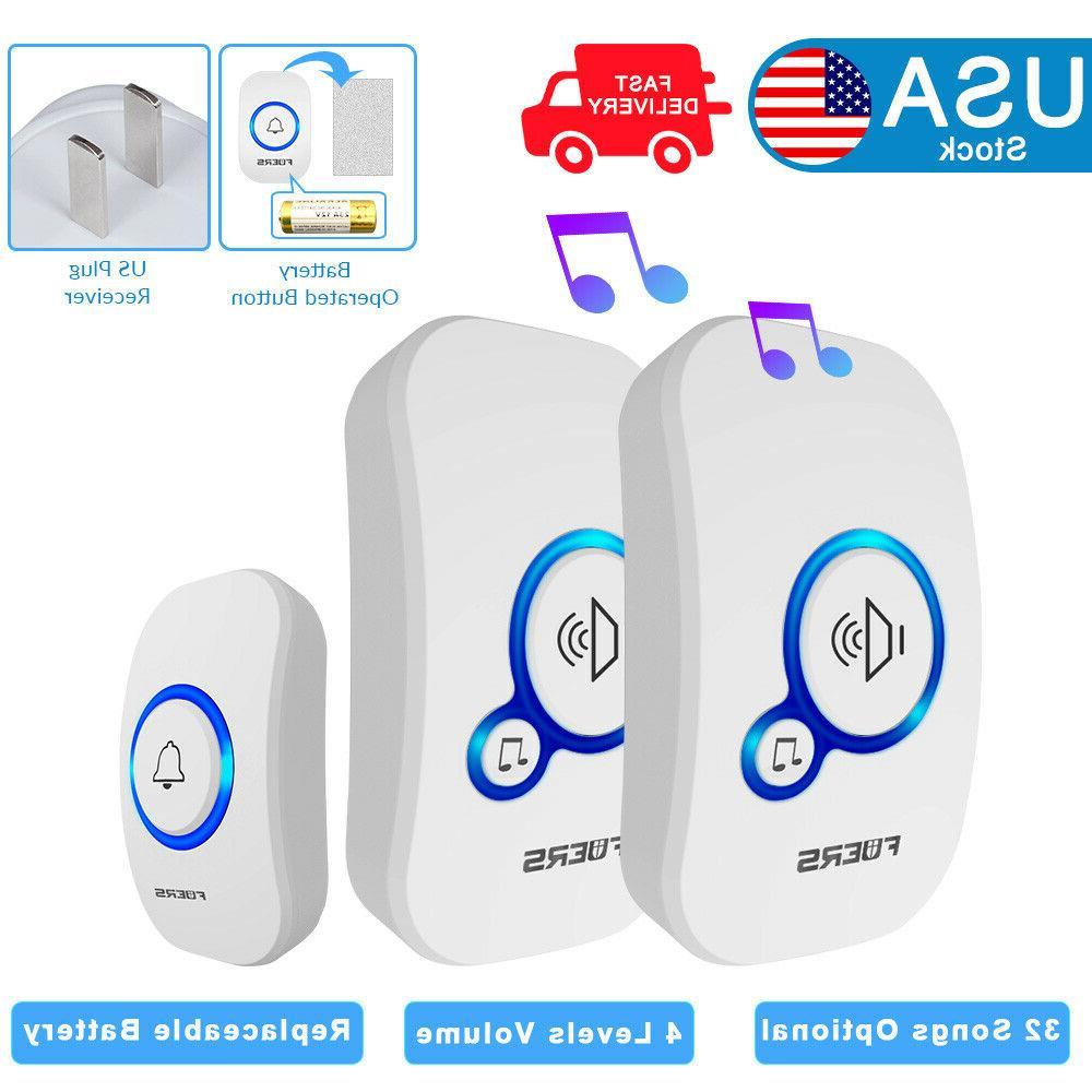 smart home welcomes wireless smart doorbell battery