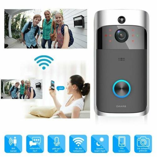 smart ring video doorbell wireless wifi phone