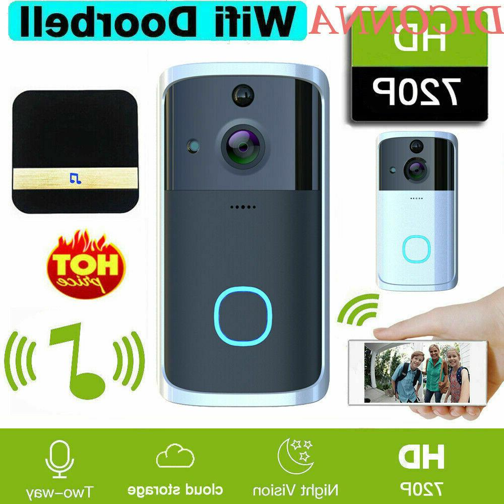 Smart Wireless WiFi Ring Doorbell Video Camera Phone Bell In