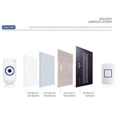 Smart Video Wireless Door Bell Visual Camera Record