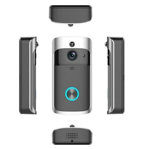 Smart Wireless Door Bell Camera Chime