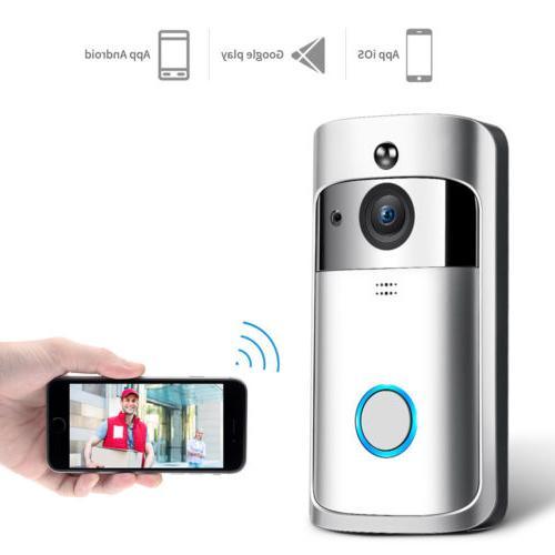 Smart Video Wireless Door Bell Visual Camera