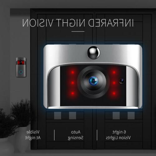 Smart Video Door IR Camera Security Kit