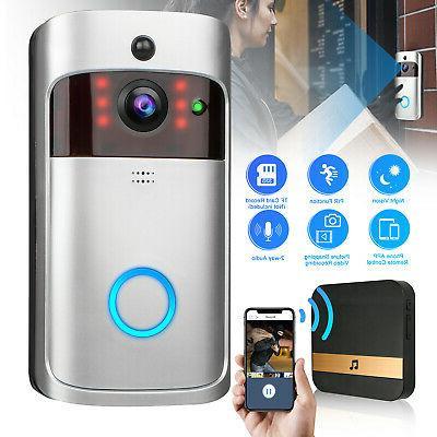 Smart Wireless Door IR Visual Camera Kit