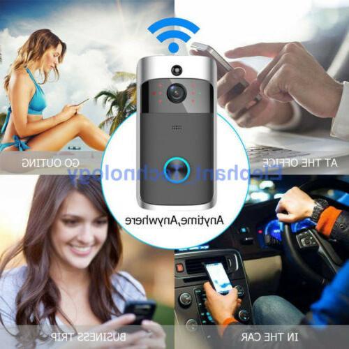 Smart Door Camera Record Security KIT