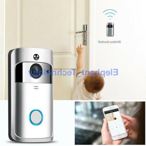 Smart Door Bell IR Visual Camera Security