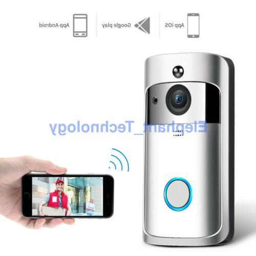Smart Video Door Bell Visual Camera Security System KIT