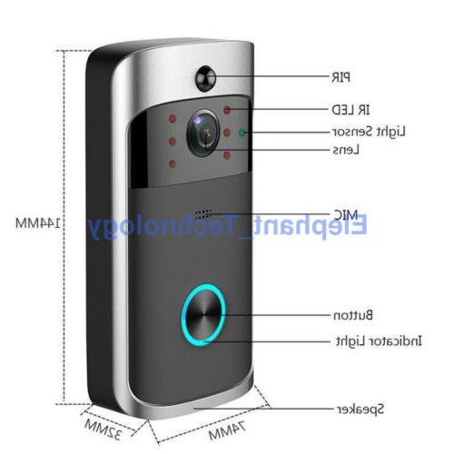 Smart Video Wireless Door Bell Camera System KIT